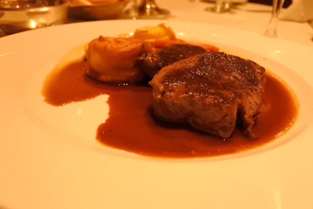 プリンセスのステーキ肉